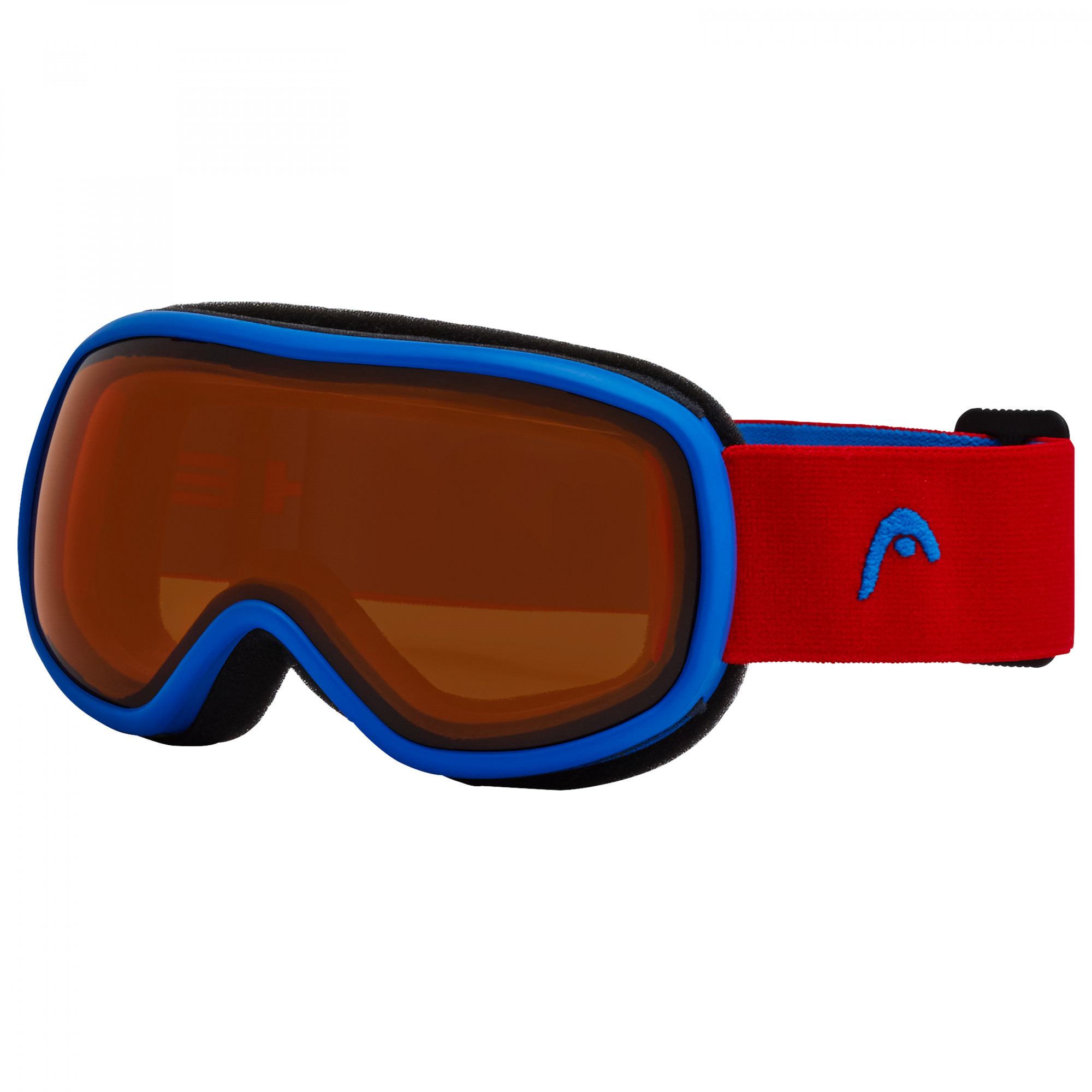 Очки горнолыжные HEAD NINJA JUNIOR lens blue/orange/red